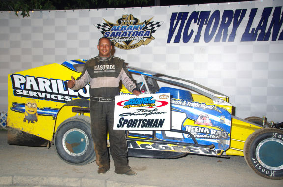 2015 Sportsman Champion: Derrick McGrew